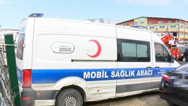 CHP'li belediyenin hasta nakil aracı hasta taşırken durduruldu, haczedildi