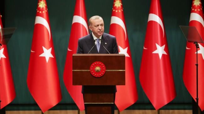 Cumhurbaşkanı Erdoğan: Üreticilere toplam 24 milyar lira tarımsal destek sağlayacağız