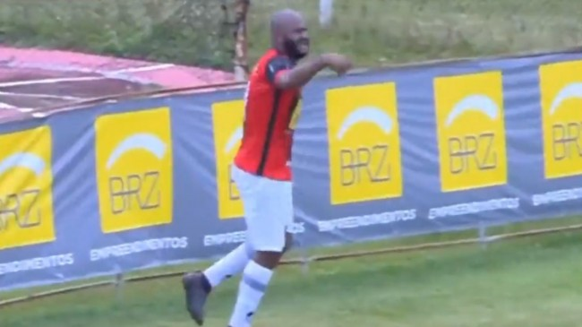 Brezilya Ligi'nde Henrique, sakat sakat gol attı